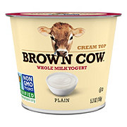 Brown Cow Whole Milk Plain Yogurt