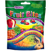 Brown's Fruit Bites Tropical Treasures Small Animal Treats