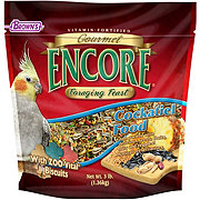 Brown's Gourmet Encore Foraging Feast Cockatiel Food