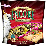 Brown's Gourmet Encore Foraging Feast Parrot Food