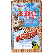 Brown's Natural Soft Pine Bedding & Litter