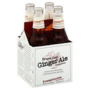 Bruce Cost Ginger Ale Pomegranate Hibiscus 12 oz Bottles