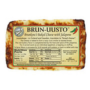 Brunkow's Brun-Uusto Jalapeno Baked Cheese