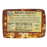 Brunkow's Brun-Uusto Original Baked Cheese