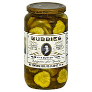 Bubbies Bread & Butter Chips Pickles