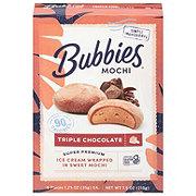 Bubbies Mochi Triple Chocolate Ice Cream