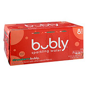 Bubly Strawberry Sparkling Water 12 oz Cans