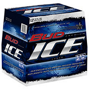 Bud Ice Beer 12 oz Longneck Bottles