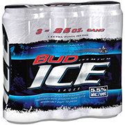 Bud Ice Beer 25 oz Cans