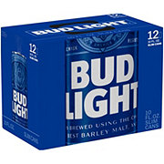 Bud Light Beer 10 oz Cans