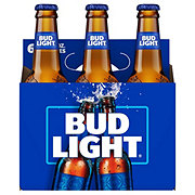 Bud Light Beer 12 oz Longneck Bottles
