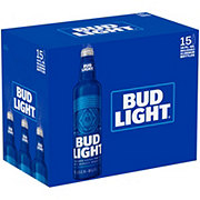 Bud Light Beer 16 oz Aluminum Bottles