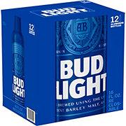 Bud Light Beer 16 oz Aluminum Bottles