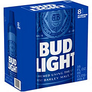 Bud Light Beer 16 oz Aluminum Reclosable Bottles