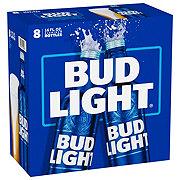 Bud Light Beer 16 oz Aluminum Reclosable Bottles