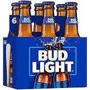 Bud Light Beer 7 oz Longneck Bottles