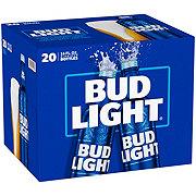 Bud Light Beer Aluminum 16 oz Bottles