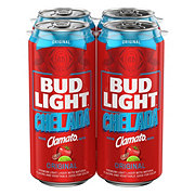Bud Light Chelada Clamato with Salt and Lime Beer 16 oz Cans