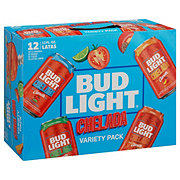 Bud Light Chelada Clamato With Salt & Lime Beer 8 oz Cans