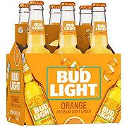 Bud Light Orange Light Lager Beer 12 oz Bottles
