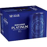 Bud Light Platinum  Beer 12 oz  Slim Cans