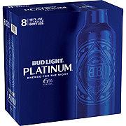 Bud Light Platinum Beer 16 oz Bottles