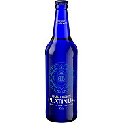 Bud Light Platinum Beer Bottle