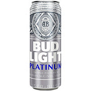 Bud Light Platinum Beer Can