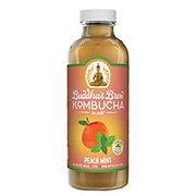 Buddha's Brew Peach Mint Kombucha