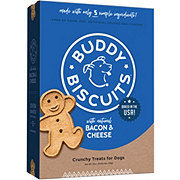 Buddy Biscuits Bacon & Cheese Flavor Dog Treats