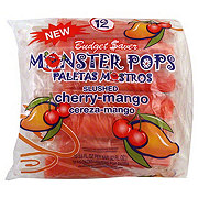 Budget Saver Slushed Cherry-Mango Monster Pops