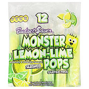 Budget Saver Slushed Lemon-Lime Monster Pops