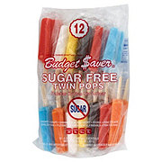 Budget Saver Sugar Free Assorted Flavors Twin Pops