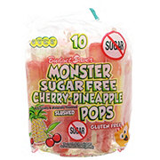 Budget Saver Sugar Free Cherry Pineapple Monster Pops