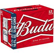 Budweiser Beer 10 oz Slim Cans