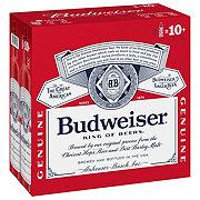 Budweiser Beer 16 oz Aluminum Bottles