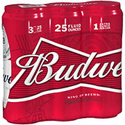 Budweiser Beer 25 oz Cans