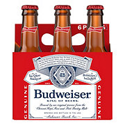 Budweiser Beer 7 oz Longneck Bottles