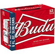 Budweiser Beer 8 oz Slim Cans