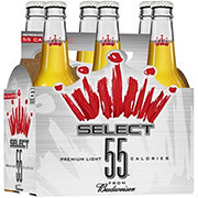 Budweiser Bud Select 55 Beer 12 oz Bottles