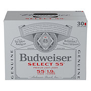 Budweiser Bud Select 55 Beer 12 oz Cans