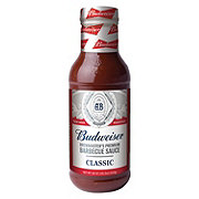 Budweiser Classic Brewmaster's Premium Barbecue Sauce