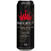 Budweiser Select Beer Can