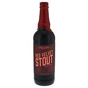 Buffalo Bayou Brewing Red Velvet Stout Beer Bottle