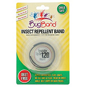 Bugband Insect Repellent Wristband Black