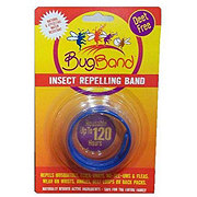 BugBand Insect Repelling Wristband Blue