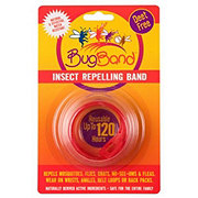 BugBand Insect Repelling Wristband Red