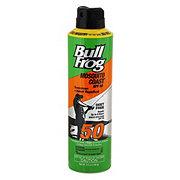 BullFrog 2-In-1 Mosquito Coast Spray & Sunscreen SPF 50