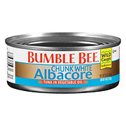 Bumble Bee Chunk White Albacore in Vegetable Oil