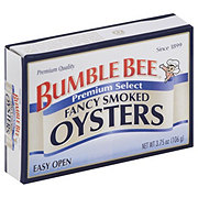 Bumble Bee Fancy Smoked Oysters